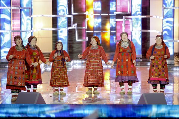 Udmurt Babushkas Delight Russia  - Sputnik International