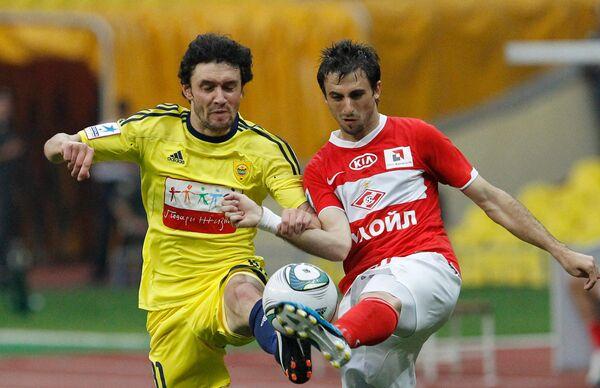 Anzhi - Spartak match. Archive - Sputnik International