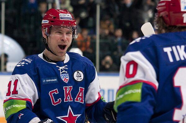 SKA St. Petersburg players - Sputnik International