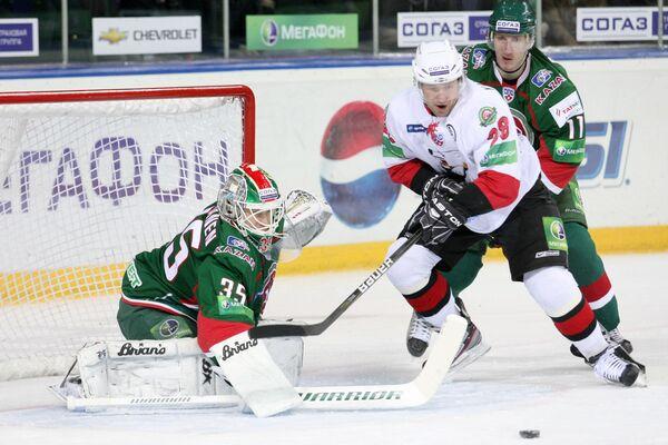 Traktor Motors Past Ak Bars in KHL Playoffs  - Sputnik International