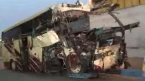 22 Children Killed in Swiss Bus Crash. Video from the Site  - Sputnik International