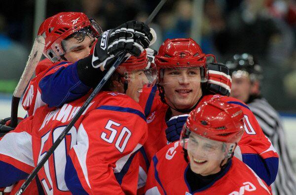 Lokomotiv hockey players  - Sputnik International