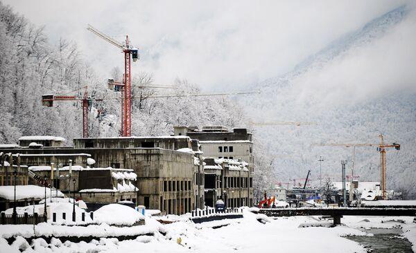 Rosa Khutor Ski Resort's Hotels and Hotel Projects - Sputnik International