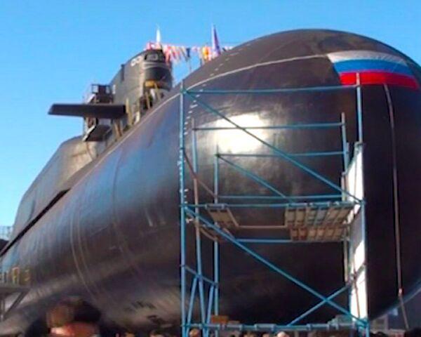 Submarine leaves dock after maintenance - Sputnik International