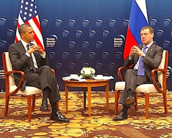 Medvedev Invites Obama to Visit Russia - Sputnik International