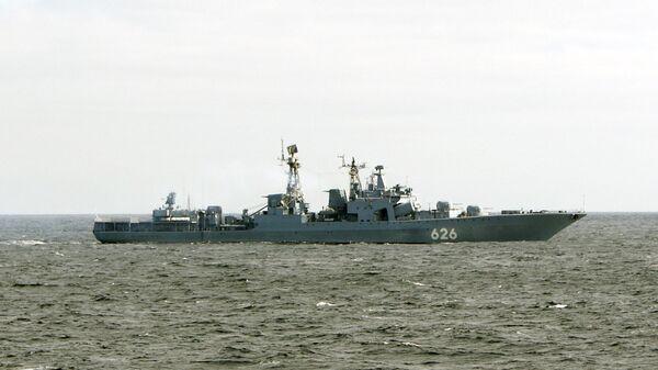 Корабль Северного флота, котроый будет бороться с пиратами в Аденском заливе - Sputnik International