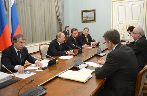 Statoil May Join Russian Arctic Shelf Projects - Putin - Sputnik International