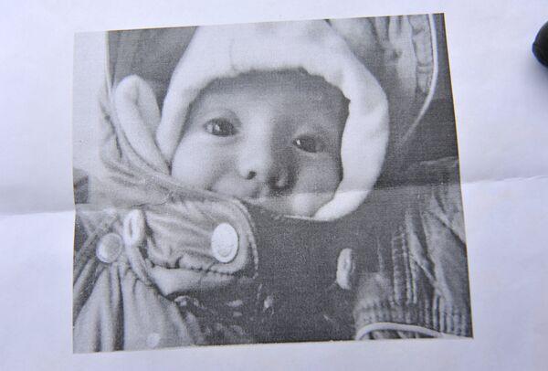 Nine-month-old Anna Shkaptsova - Sputnik International