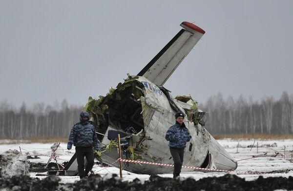 ATR-72 Plane Crash - Sputnik International