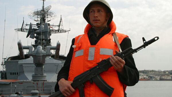 Russian frigate Smetlivy - Sputnik International
