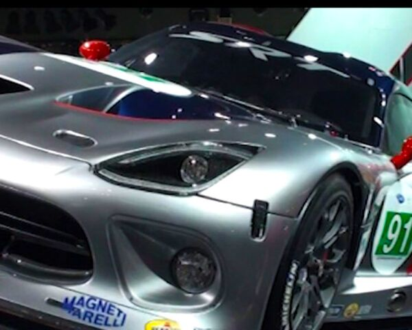 Dodge Viper Supercar on Display at the Oldest Auto Show in the United States - Sputnik International