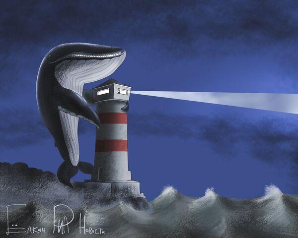 Earth Calling Whale    - Sputnik International