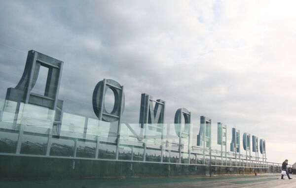 Domodedovo Airport - Sputnik International