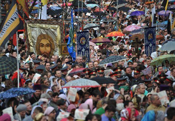 Real Russians Are Orthodox – Poll  - Sputnik International