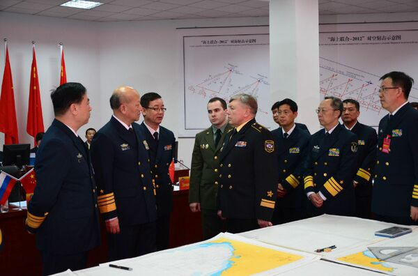 Russia, China Complete Naval Drills    - Sputnik International