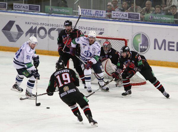 Dynamo Lifts Gagarin Cup with Win in Siberia  - Sputnik International