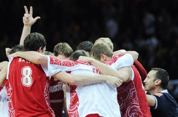 Russia basketball team players. Archive - Sputnik International