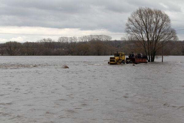 Central Russia Flood Damage Estimated at $17 mln   - Sputnik International