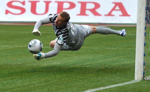 Zenit St. Petersburg goalkeeper Vyacheslav Malafeev  - Sputnik International
