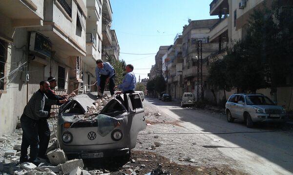 Report from a Syrian Rebel Base - Sputnik International