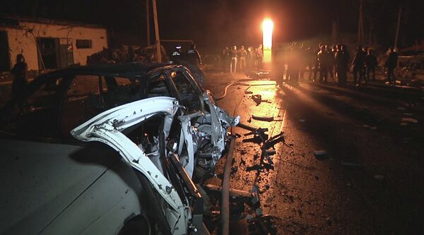 Twin blasts in Makhachkala - Sputnik International