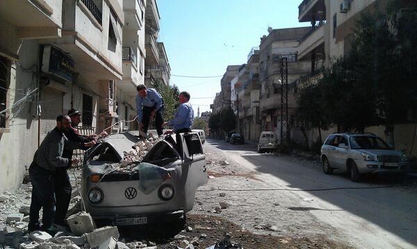 Violence in Syria Subsides Despite Ceasefire Violations - Sputnik International