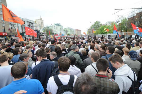 March of Millions in Moscow on May 6 - Sputnik International