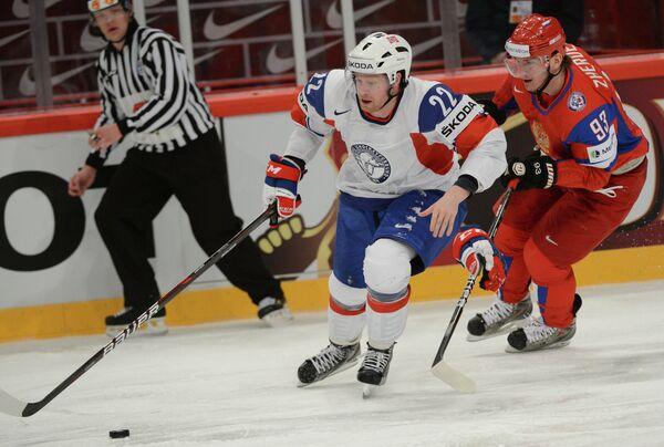 Russia Battles to 4-2 Norway Win at World Champs - Sputnik International