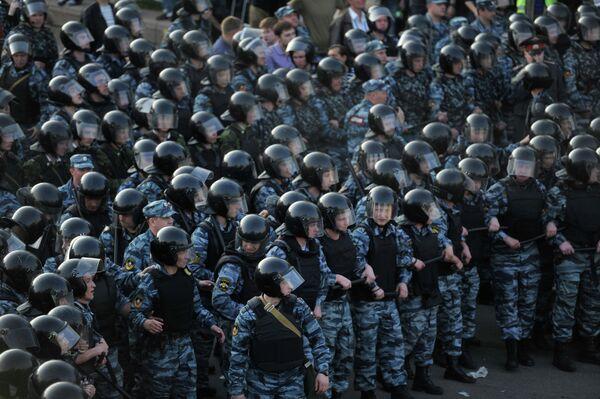 Russian Police Break Up Anti-Putin Rally - Sputnik International