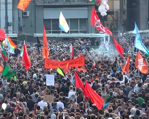 'March of Millions' Turns Violent in Moscow - Sputnik International