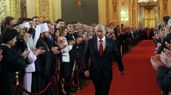 Putin Returns to Kremlin in Glittering Ceremony - Sputnik International