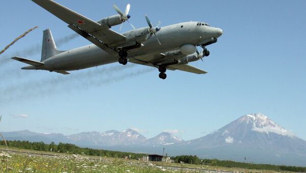 The Ilyushin Il-38 (May) anti-submarine warfare aircraft - Sputnik International