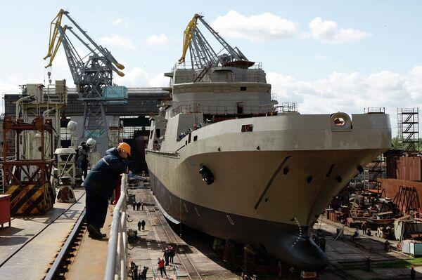 Ivan Gren landing ship - Sputnik International
