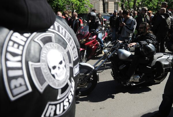 Hundreds of Bikers Rally Near Iraqi Embassy in Moscow          - Sputnik International