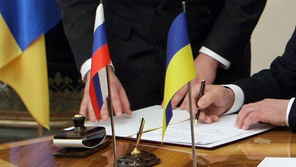Ukraine Premier Orders Gov't to Settle Russian Customs Issues - Sputnik International