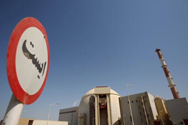 Nuclear power plant at Bushehr - Sputnik International