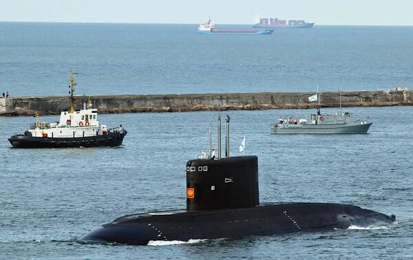 """The Varshavyanka class is an improved version of the Kilo class submarines, featuring advanced """"stealth"""" technology, extended combat range and ability to strike land, surface and underwater targets - Sputnik International"""