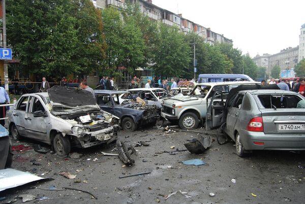 Blast at Vladikavkaz market on September 9, 2010 - Sputnik International