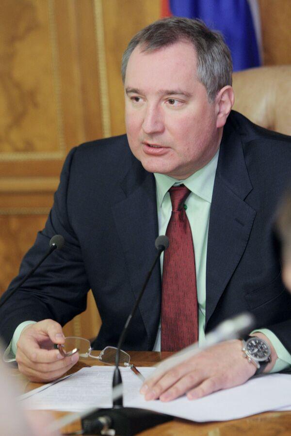 Russian Deputy Prime Minister Dmitry Rogozin - Sputnik International