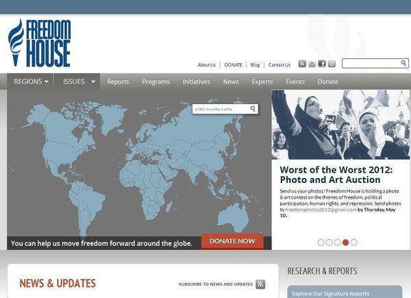 Freedom House Blasts Hungary, Ukraine for Poor Democracy      - Sputnik International