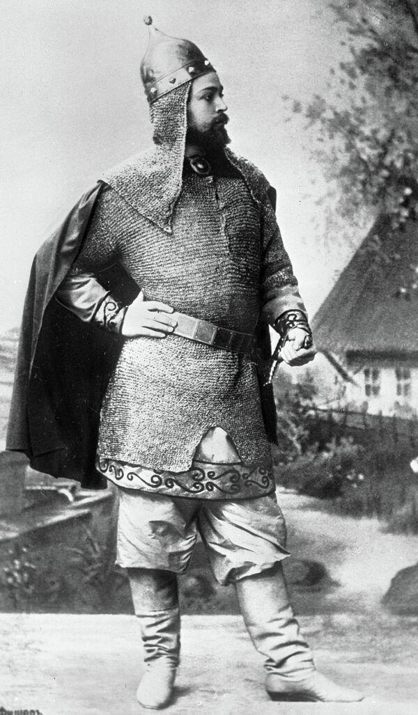 'Russian Italian' Leonid Sobinov  - Sputnik International