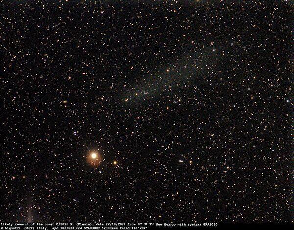The Elenin Comet - Sputnik International