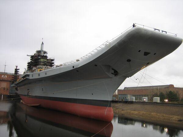 The aircraft carrier INS Vikramaditya - Sputnik International