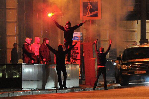 Russian Interior Ministy Confirms Fans Arrested        - Sputnik International