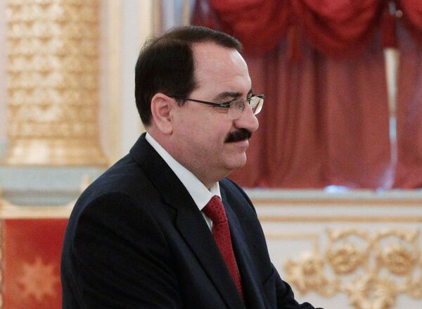 Syrian ambassador to Russia Riyad Haddad - Sputnik International