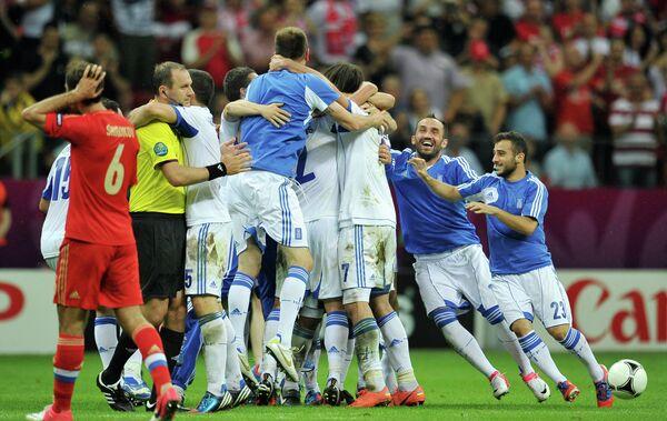 Karagounis scored as Greece beat Russia 1-0 on Saturday - Sputnik International