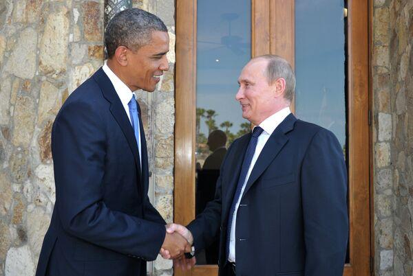 Barack Obama and Vladimir Putin - Sputnik International