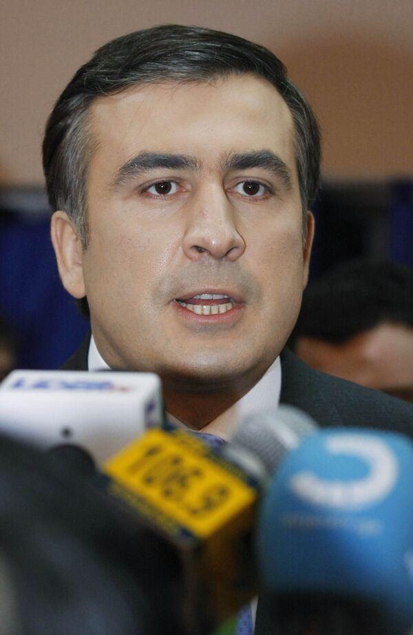 Georgian President Mikheil Saakashvili - Sputnik International