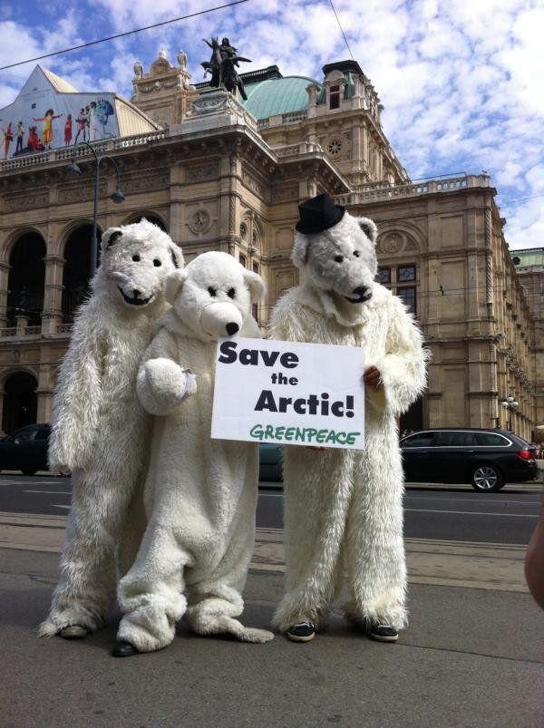 Greenpeace to Collect 1 Mln Signatures to 'Save Arctic'          - Sputnik International