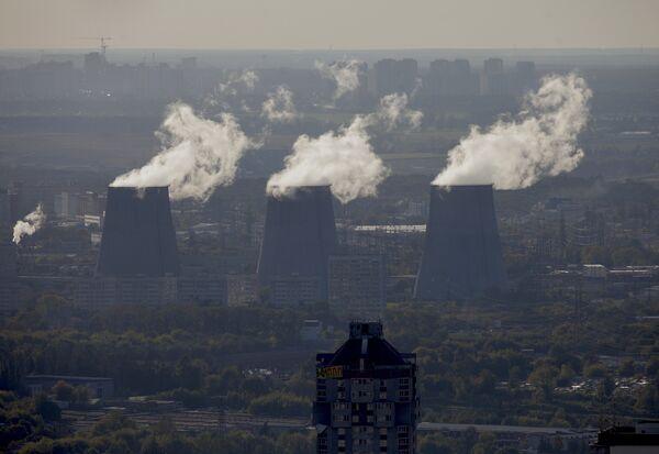 Russia Ready to Cut Greenhouse Gas Emissions 25%          - Sputnik International